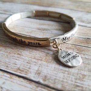 Mom's Blessing stretch bracelet